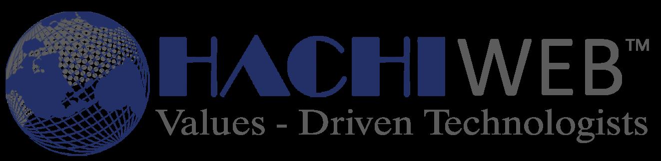 web development,hachiweb logo